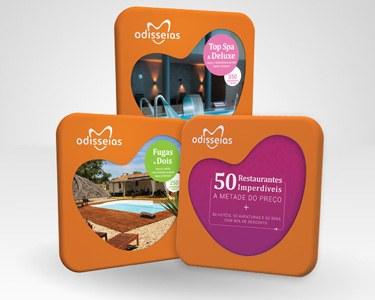 3 Presentes: Fugas a Dois + Top Spa & Deluxe + 50 Restaurantes
