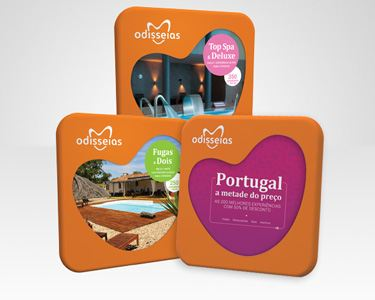 3 Presentes:Fugas a Dois + Top Spa & Deluxe + Portugal Metade do Preço