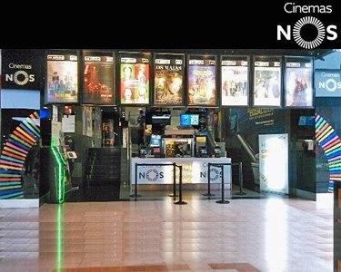 Cinemas NOS | Bilhete + Pipocas | Vá ao Cinema!