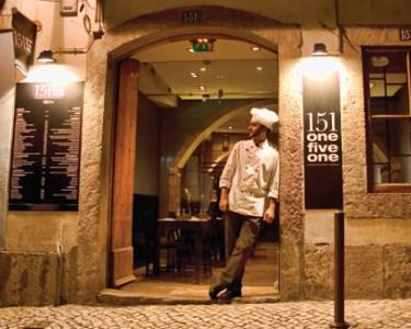 Restaurante 151 One Five One | Cozinha de Autor a Dois no Bairro Alto