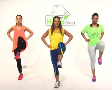 Fique em Forma sem Sair de Casa   1 Ano - My Home Gym