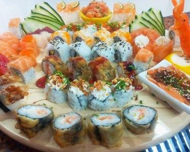 Sushi de Fusão & Sangria   2 ou 4 Pessoas   Restaurante KiTai