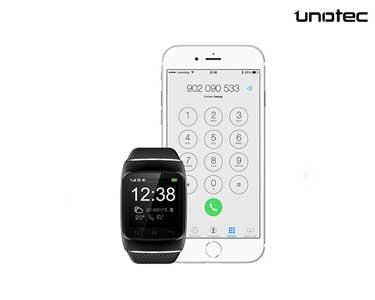 Relógio Bluetooth | Chamadas, SMS, Música, Tempo, Notificações e Email