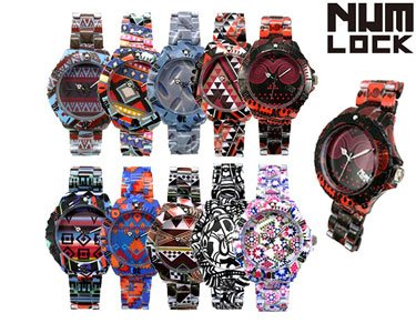 Relógios NumLock® Tribal | Escolha o Seu