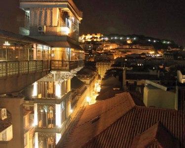 Jantar Romântico sobre Lisboa | Bella Lisa Elevador | Chiado