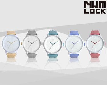 Relógios NumLock® Pastel | Cor à Escolha