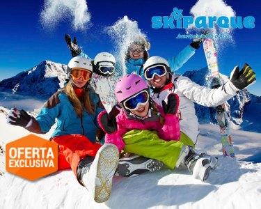 2 Noites + 2 Dias de Skiparque na Serra da Estrela