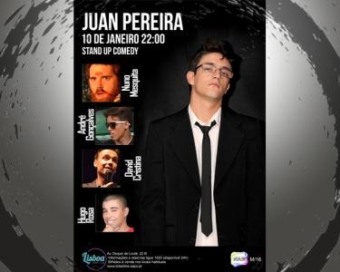 «Juan Pereira» Stand-Up Comedy | 10 de Janeiro | Lisboa Comedy Club