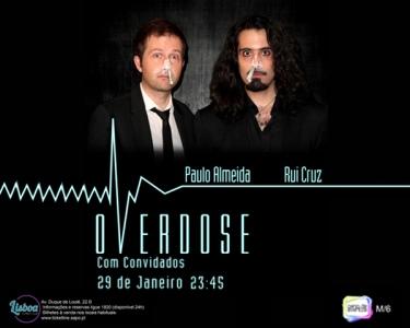 «Overdose» Stand-Up Comedy | 29 de Janeiro | Lisboa Comedy Club