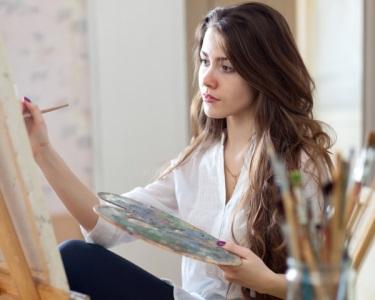 Aulas de Pintura na Pedaços de Arte | 1 Mês | Porto