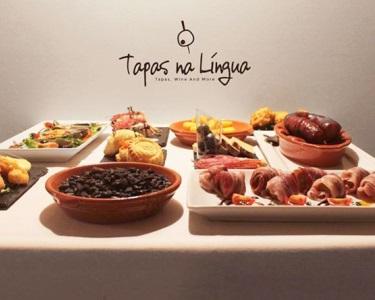 Tapas na Língua | Jantar Completo de Tapas p/ 2 ou 4 Pessoas