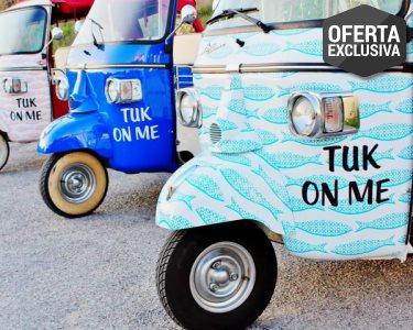 Passeio Romântico de TukTuk em Lisboa | Especial Namorados | Tuk On Me