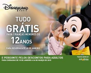 Disneyland® Paris | Grátis para Crianças até 12 anos | 2 Nts+Entradas