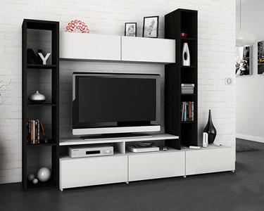 Refresh à sua Sala | Estante de TV em Preto e Branco