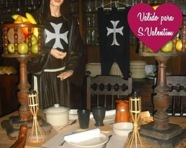 S. Valentim: Jantar Medieval à Luz das Velas a 2 | Taberna da Cruzada