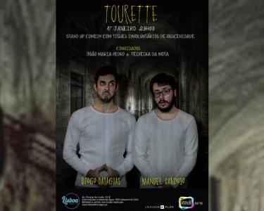 «Tourette» | Stand-up Comedy | 17 de Janeiro às 23h | Lisboa Comedy Club