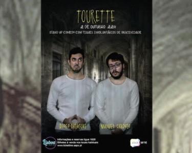 «Tourette» - Stand-up Comedy | 2 de Outubro | Lisboa Comedy Club