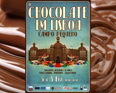 «O Chocolate em Lisboa» | Entradas p/ 2 ou 4 Pessoas - Campo Pequeno