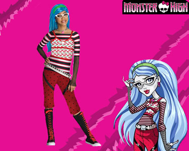 Fato de Carnaval de Crian��a | Monster High - Ghoulia Yelps