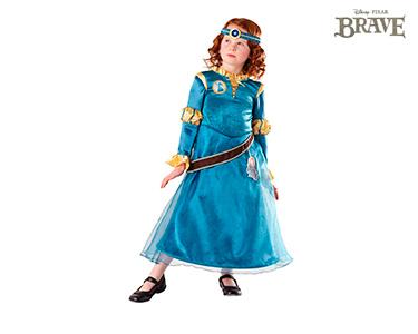 Fato de Carnaval de Criança | Brave Indomável - Vestido de Merida