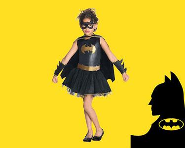 Fato de Carnaval de Criança   Bat Girl