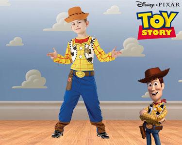 Fato de Carnaval de Criança | Toy Story - Woody