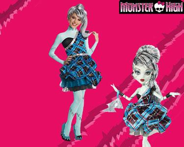 Fato de Carnaval de Criança | Monster High - Frankie