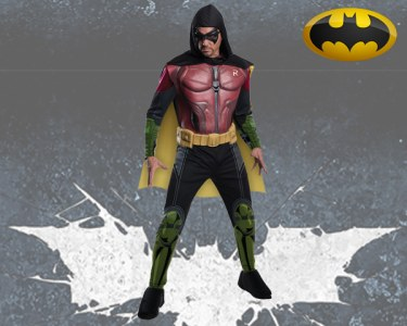 Fato de Carnaval de Adulto | Batman - Robin Arkham