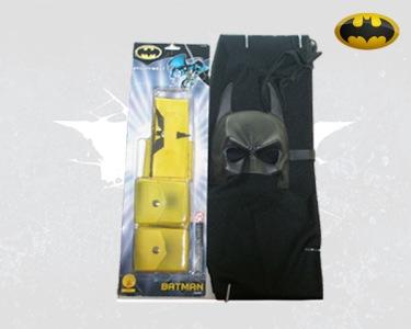 Fato de Carnaval de Adulto   Kit Batman