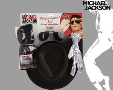 Fato de Carnaval de Adulto | Kit Michael Jackson