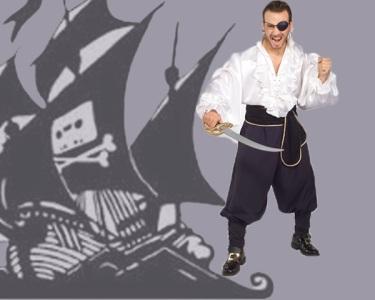 Fato de Carnaval de Adulto | Pirata