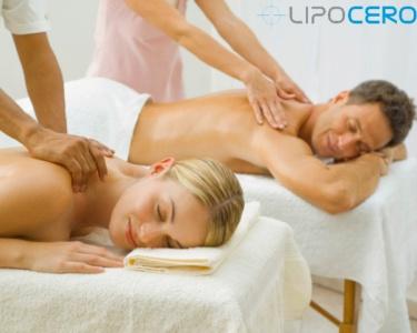 Massagem Apaixonante a Dois & Ritual de Champanhe com Morangos
