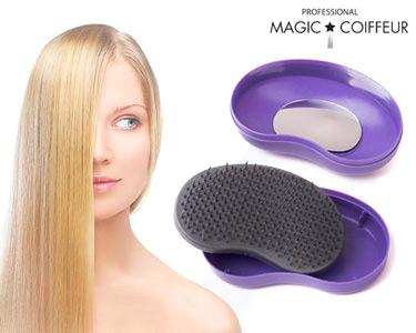 Escova Magic Coiffure® | Penteia, Desembaraça e Alisa