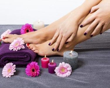 Mãos e Pés de Fada para o Dia de S. Valentim | Manicure e Pedicure