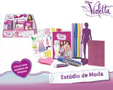 Estúdio de Moda da Violetta | Cria os Teus Próprios Modelos de Roupa!