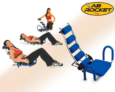 Banco de Abdominais Gym Step Rocket