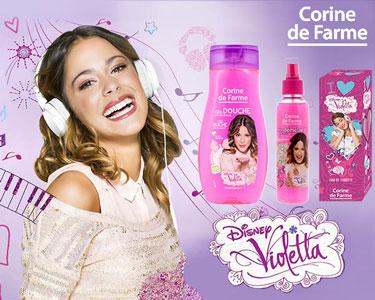 Kit Violetta | Perfume + Gel de Banho + Spray Desembaraçante