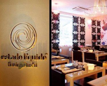 Estado Líquido Fusion Sushi | Jantar de Charme para Dois - Santos