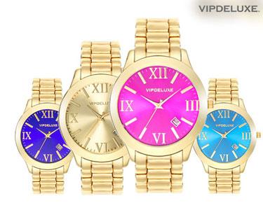 Relógio Rainbow VipDelux® | Cores à Escolha