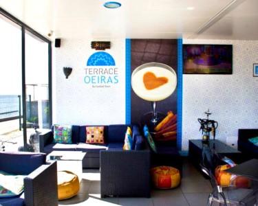 Romance à Beira-Mar | Terrace Oeiras | Lanche para 2 ou 4 Pessoas