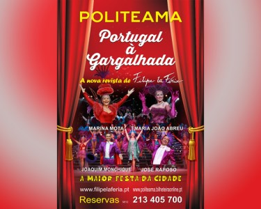 Revista de Filipe La Féria no Politeama | «Portugal à Gargalhada»
