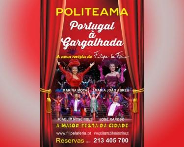 Revista de Filipe La Féria | «Portugal à Gargalhada» | Politeama