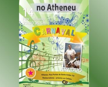 Festa de Carnaval Brasileiro no Atheneu | Sambe pela Noite Fora!