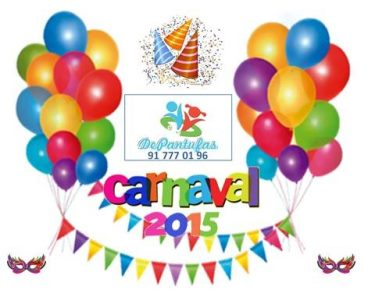 Super Festa de Carnaval | Máscaras, Música, Animação e Lanche Incluído