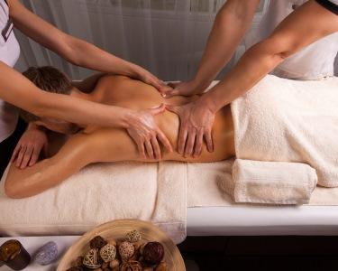 Massagem a 4 Mãos - Relaxamento a Dobrar | Sta. Catarina