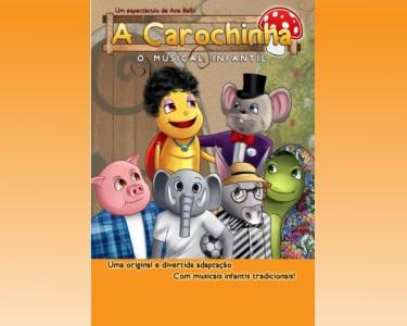 «A Carochinha» no Teatro Villaret | Musical Infantil