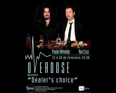 «Overdose» Stand-Up Comedy | 26 de Fevereiro | Lisboa Comedy Club