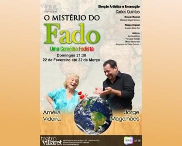 «O Mistério do Fado» Uma Comédia Fadista | Amélia Videira no Villaret