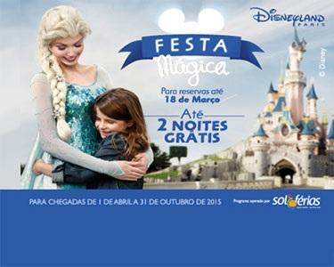 Disneyland® Paris | 3 Noites ao preço de Duas | Voos + 3 Nts + Entradas