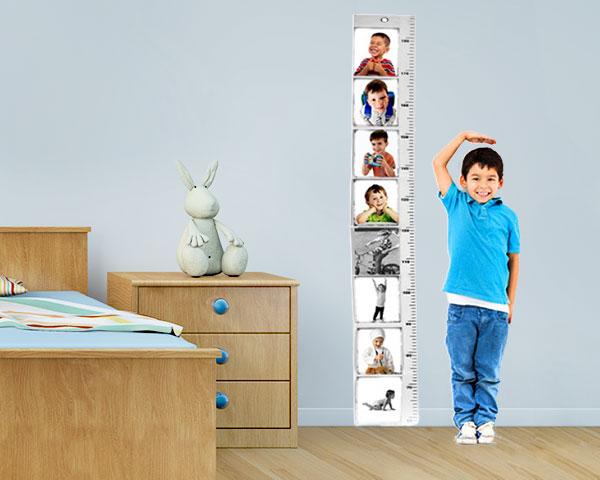 Moldura & Fita Métrica Vertical | Acompanhe o Crescimento do seu Filho